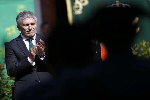 Fernando Grande-Marlaska, durante un acto de homenaje a la Guardia...