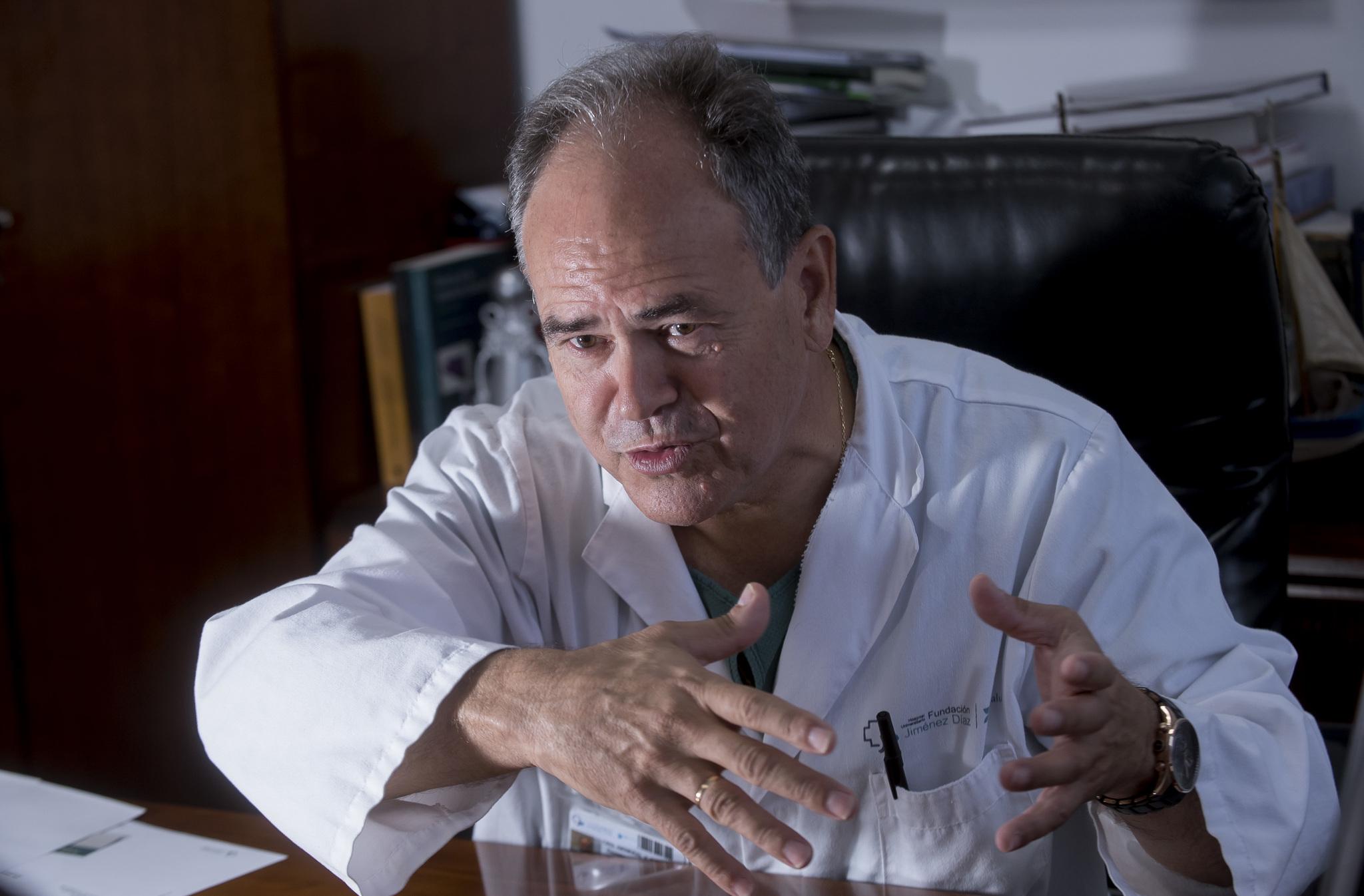 Damián García-Olmo, jefe del servicio de Cirugía del Hospital Universitario Fundación Jiménez Díaz de Madrid.
