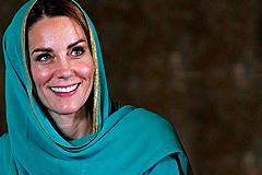 Kate Middleton se inspira en Lady Di y deslumbra en Pakistán