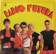 Javier Furia, en el centro, con pelo rubio, en la portada de 'Música Moderna'.