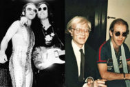 La raya que unía a Elton John con John Lennon y Andy Warhol... era de cocaína