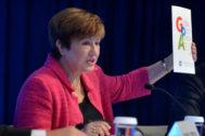 La directora gerente del Fondo Monetario Internacional, Kristalina Georgieva.