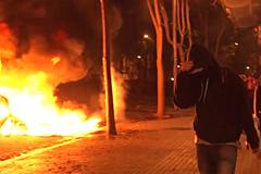 """Una noche con los CDR que incendian Cataluña: """"La revolución de las sonrisas acabó"""""""