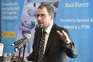 Raül Blanco, secretario general de Industria y Pyme.