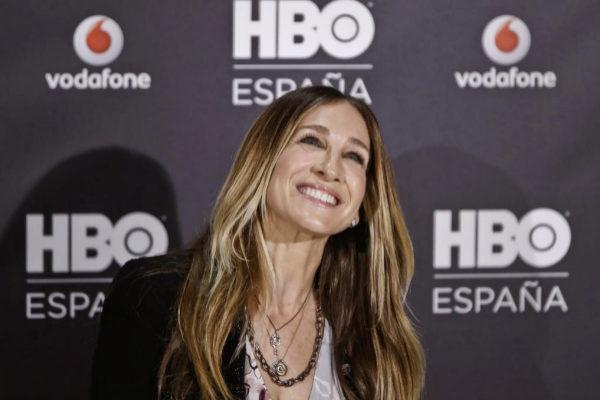 Sarah Jessica Parker, en una presentación en Madrid por su serie...