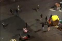 Los Mossos buscan a los  ultras que le dieron una paliza  a un independentista