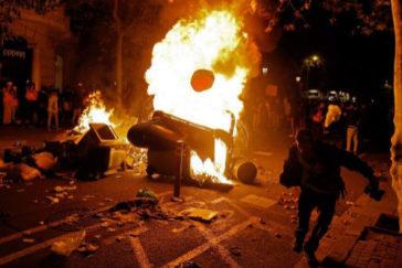 """La Generalitat reconoce que """"los disturbios han bajado, pero ha aumentado la violencia"""""""