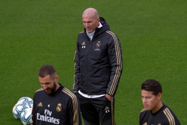 GRAF2313. MADRID.- El entrenador francés del Real Madrid, Zinedine...
