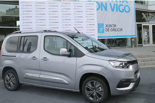 El comercial Proace City que se fabricará en PSA-Vigo para Toyota.