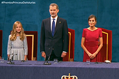 Entrega de los Premios Princesa de Asturias
