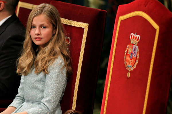 GRAF2809. OVIEDO.- La princesa <HIT>Leonor</HIT> durante la ceremonia...
