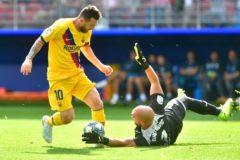 Eibar - Barça, en directo: el tridente se gusta en Ipurua (0-3)