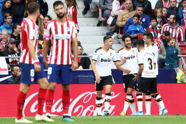 La Liga Santander - Atletico Madrid v Valencia