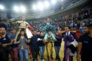 Cayetano y Emilio de Justo salen a hombros  en <HIT>Jaén</HIT>