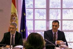Sánchez vuelve a presidir el comité de seguimiento de la crisis en Cataluña