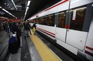 Un tren de Cercanías.