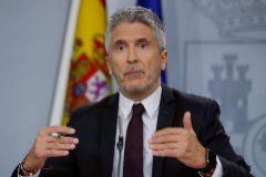El ministro del Interior en funciones, Fernando Grande-Marlaska.