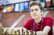 David Antón, durante un torneo reciente.