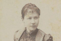Johanna van Gogh-Bonger posa con su hijo en una imagen de archivo.