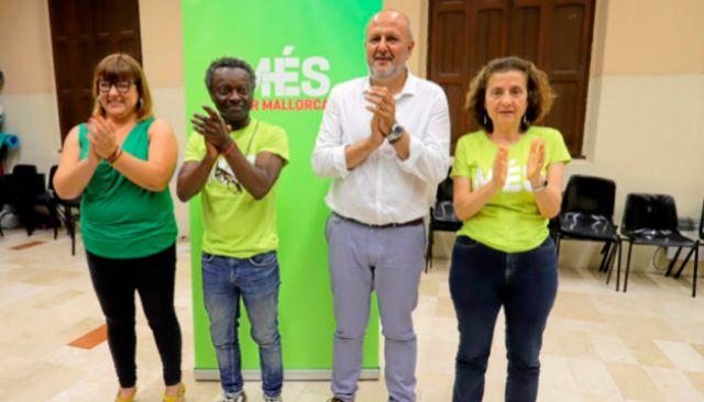 Bel Busquets, Guillem Balboa, Miquel Ensenyat y Fina Santiago.
