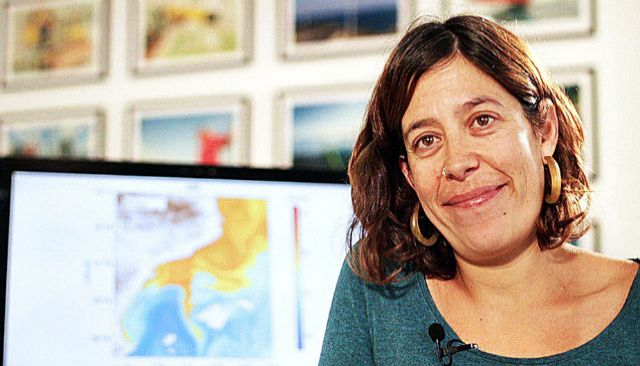 Eva Aguiar, investigadora de la ICTS SOCIB.