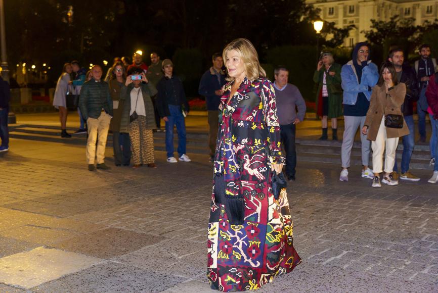 Cari Lapique fue otra de las invitadas a la puesta de largo de Carlota...