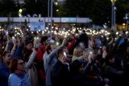 Manifestación en 2018 en memoria de Jan Kuciak.