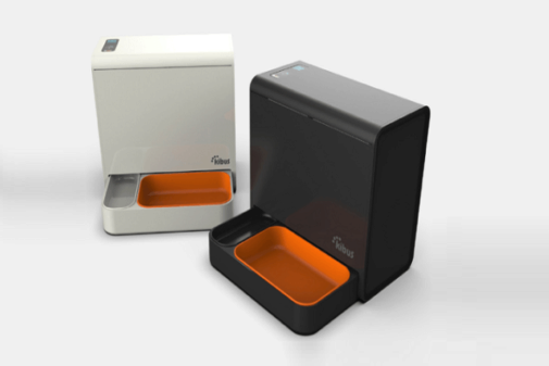 La máquina de comida para mascotas que ha desarrollado Kibus Petcare.