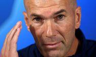 Zinedine Zidane, en la previa del duelo contra el Galatasaray.