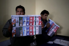 Presidential election in Bolivia