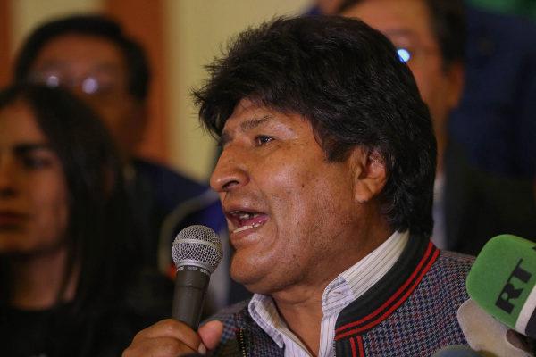 AME2708. LA PAZ (BOLIVIA), 20/10/2019.- El presidente de Bolivia,...