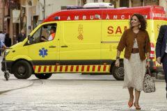 La ministra de Hacienda en funciones, María Jesús Montero, el pasado 16 de octubre en Valencia.