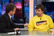 El Hormiguero: La 'paliza' de Fernando Alonso a Pablo Motos