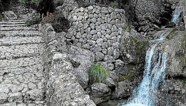 Torrente del Barranc de Biniaraix en una imagen de archivo.