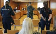 El acusado, este lunes, durante su declaración en el juicio en la Audiencia Provincial.