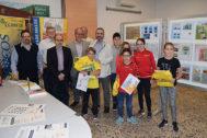 El colegio convocó un concurso de dibujo y la estampa del ganador, Marcos Sánchez Fuentes, será editada por Correos.