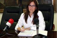 Cristina Rius, concejala de Hacienda de Burriana.