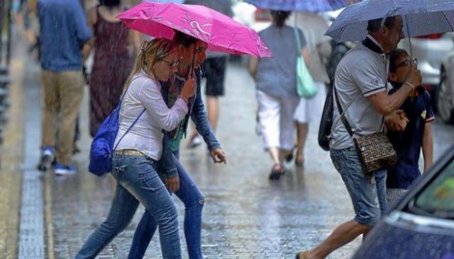 Tarde de lluvia en Palma.