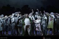 Ensayo general de ópera 'Falstaff' en el Teatro Real.