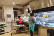 Laboratorio de Anatomía Forense del Hospital de Elda.