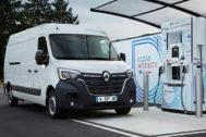 La Renault Master Z. E. Hydrogen llegará al mercado en el primer semestre de 2020.