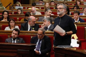 Los independentistas desafían al Constitucional y reafirman en el Parlament  la vía secesionista