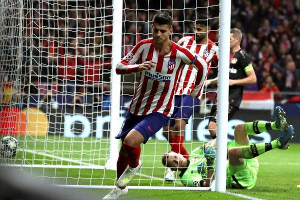GRAF5279. MADRID.- El delantero español del Atlético de Madrid...