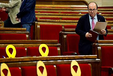 Miquel Iceta elogia que la sentencia del 1-O permita liberar pronto a los presos condenados