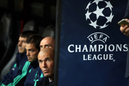 Zidane, el martes en Estambul.