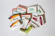 Algunos de los medicamentos más comunes.