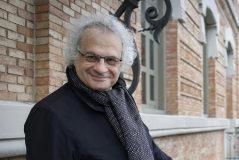 Amin Maalouf, en la Casa Árabe de Madrid.