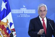 El presidente de Chile, Sebastián Piñera.
