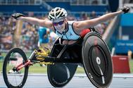 Marieke Vervoort, durante los Juegos de Río 2016.