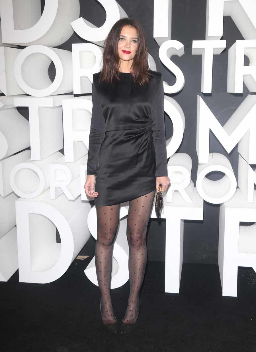 Katie Holmes - Inauguración de la tienda Nordstrom en Nueva York